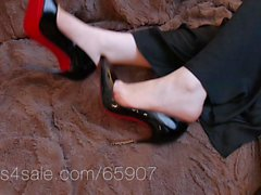 louboutin so kate shoejob and shoeplay