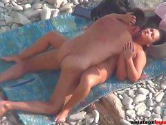 Amateur wife nude beach sex