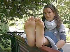 Nice French Dirty Feet Soles Fetiche de pés