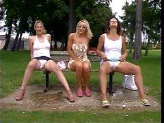 Peeing Outdoor