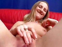 Perky German blonde CCC
