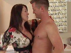 Bigtits pornstar stripping