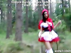 Hotkinkyjo brutal anal fisting in the forest and prolapse