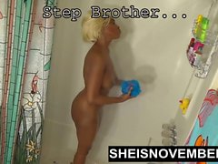 Svart Step Sister Ung Blond Ebony Fuck Steg Brother Ride