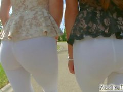 Ass Traffic French chicks in anal fuck fest
