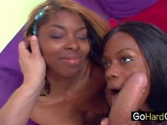 Black Sisters Enjoying His White Dick Remy Hart Jayden Hart