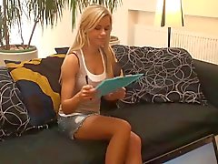 Blonde Gets Creampie After Hot Massage,By Blondelover.