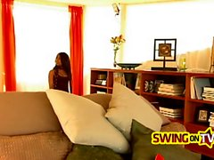 Fresh swingers are getting comfortable