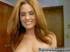 Bubble arse milf skank drilled reverse part1