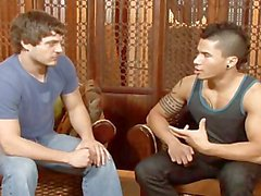 Andrew Blue et Dante Escobar Baisez rigide