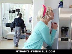 MyBabysittersClub Super Cute BabySitter Fucks For Money