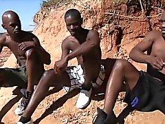Горячая африканский парней есть ужасного гомосексуальные отношения в солнце