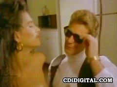 raven 80s pornstar serving a good blowjob