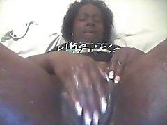 ebony solo intense orgasim 18