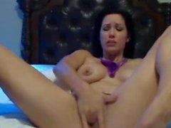 Dirty Talking Webcam Slut Begs For Cum