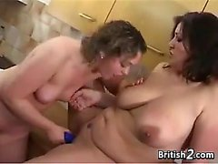 Cute Lesbians From Britain Having Fun