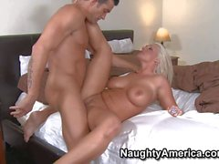 Glamourous Sadie Swede fucking hard with Billy Glide