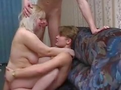Russian mom Marta with two boys