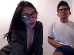 Hot Webcam Brunette adolescente na webcam masturbarem