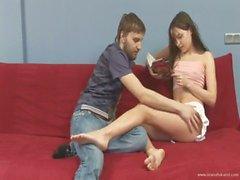 Ivana with her boyfriend