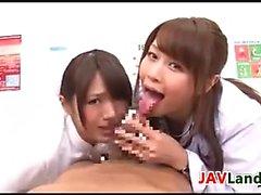 Kinky Japanese Nurse And Doctor POV