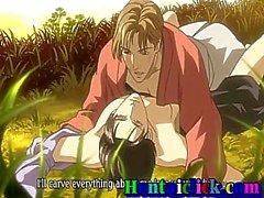 Cute Hentai веселый горячей трахается со своим другом