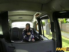 Hot Skinny Petite teen gets banged in the taxi