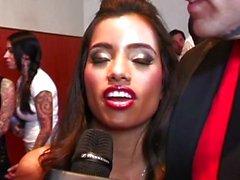 A Alexis Ford Lupe Fuentes los Premios Para el Premio AVN