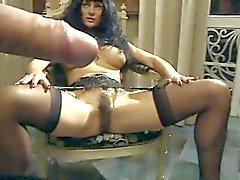 Venere Bianca - zwarte kousen