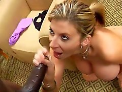 Milf Sara Jay Sucks A Big Cock