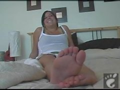 College Girl Foot Fetish Interview 1