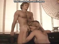 Stacey Donovan, Jerry Butler in porn classic with fucking