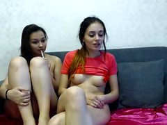 Webcam group sex