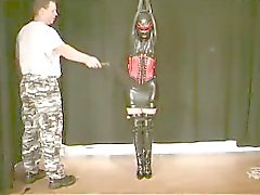 Bound rubber girl
