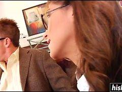 Jenna Haze é uma secretária travessa