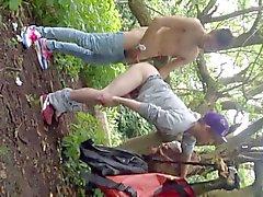 женоподобный мужчина трахают в парке чтобы все как посмотреть