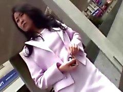 Восхитительный японский медсестра Трет дружка жесткого пениса