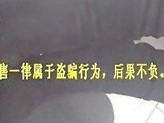 Chinese footjob sukkien kanssa