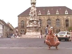 Budapest - Sophie Moon - Public Nudity