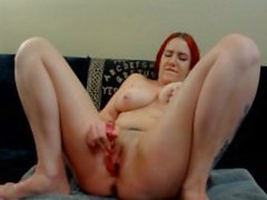 Redhead Crazy Squirting