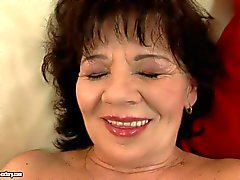 Helena May gets toy fucked then takes real cock
