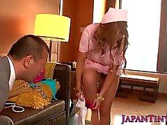 Japanese nurse fucked