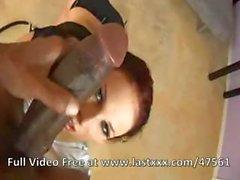 Stegreif Hacke bei eines verdaulichen rosa Waschbecken, Gianna Michaels macht es mit Jack Napier