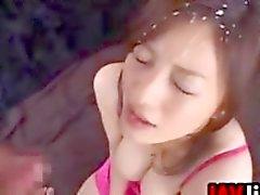 Bukkake derlenmesi Alıştırma Japonlar Kız ve