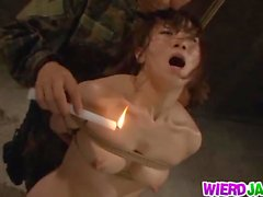 Military MILF Gets Stripped