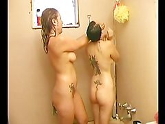 Ladies in Shower