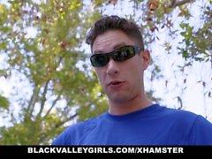 BlackValleyGirls - Горячий подросток Ebony трахает тренер по плаванию