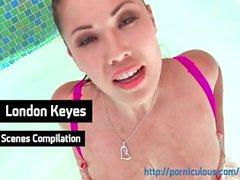 I London Keyes - Pornstar kompilering