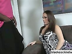 Gallo nero slut interracial sex