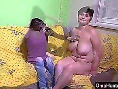 OmaHunter Adolescente provare i nonnina